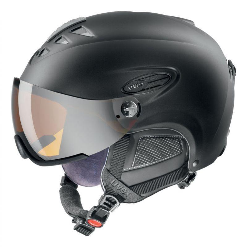 helma UVEX HLMT 300 VISOR, black mat (S566162220*) UVEX ZIMNÍ