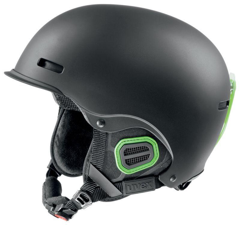 helma UVEX HLMT 5 PRO, black-green mat (S566146270*) UVEX ZIMNÍ