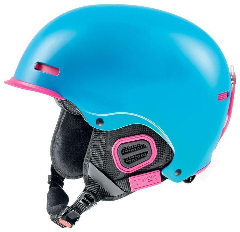 helma UVEX HLMT 5 PRO, cyan/pink mat (S566146940*) UVEX ZIMNÍ