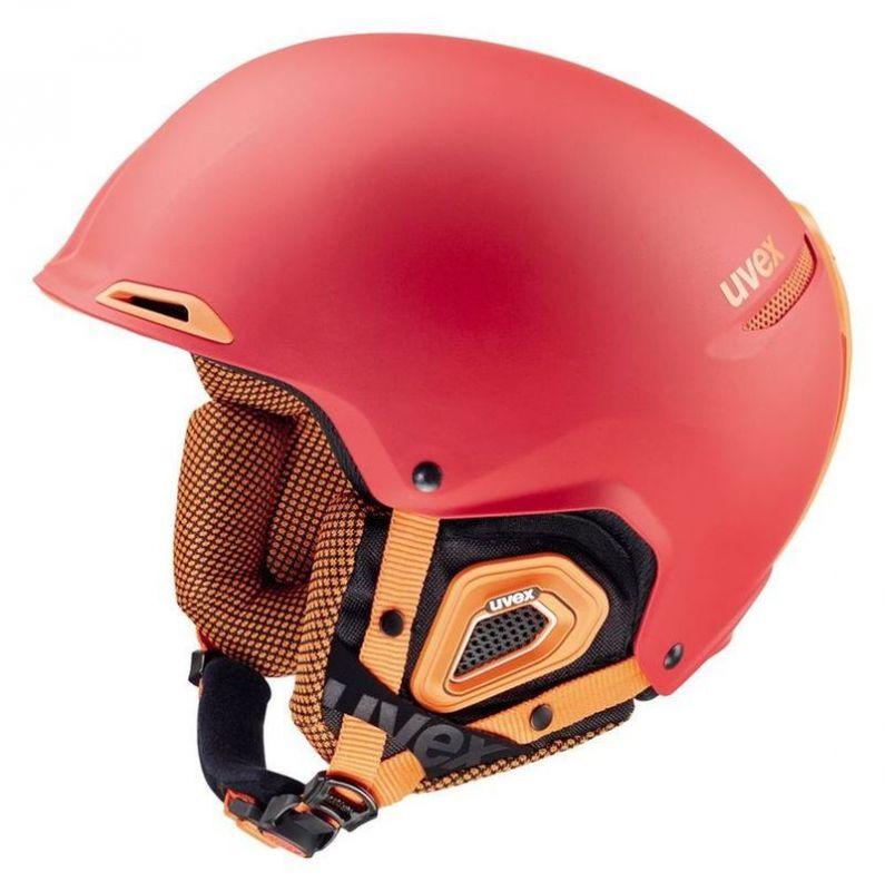 helma UVEX JAKK+, red-orange mat (S566182380*) UVEX ZIMNÍ