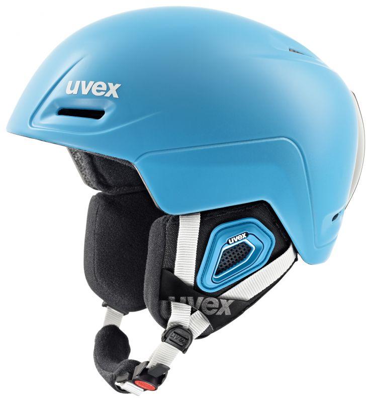 helma UVEX JIMM, liteblue mat (S566206700*) UVEX ZIMNÍ