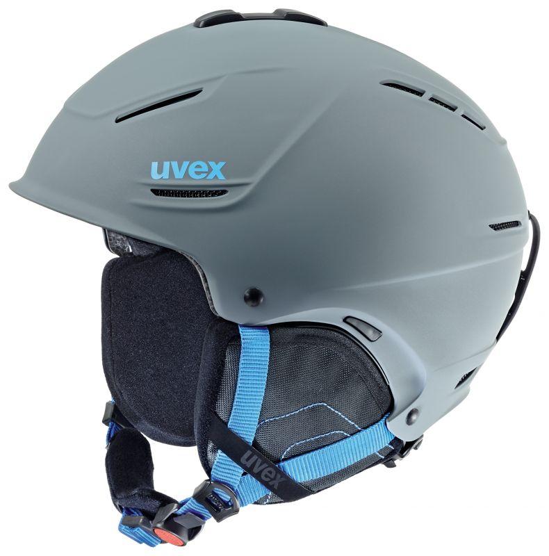 helma UVEX P1US, grey-blue mat (S566153540*) - 59-62 UVEX ZIMNÍ