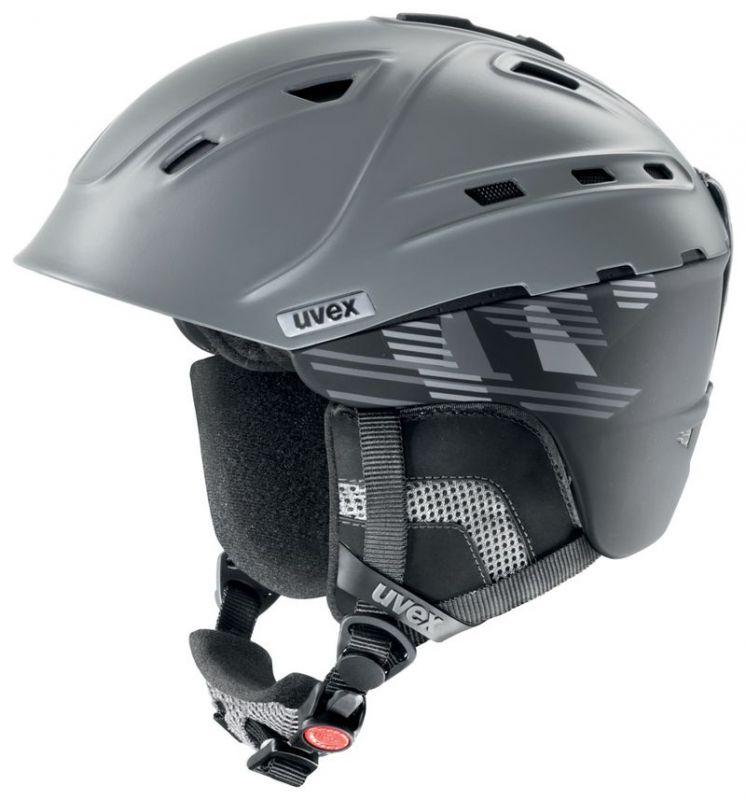 helma UVEX P2US, anthracite-black (S566178800*) UVEX ZIMNÍ
