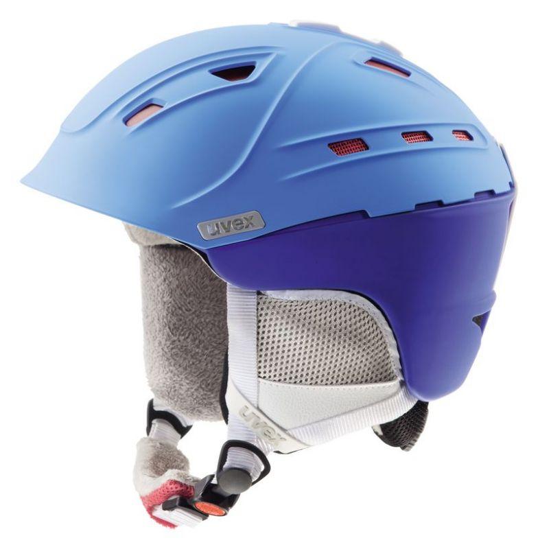 helma UVEX P2US WL, blue-red mat (S566178430*) UVEX ZIMNÍ