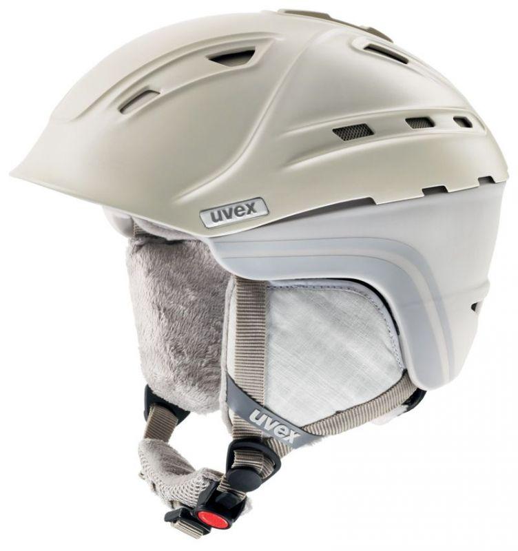 helma UVEX P2US WL, creme/grey mat (S566178150*) UVEX ZIMNÍ