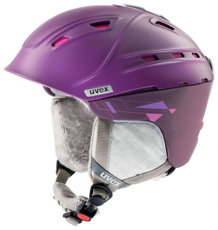helma UVEX P2US WL, purple/pink mat (S566178900*) UVEX ZIMNÍ