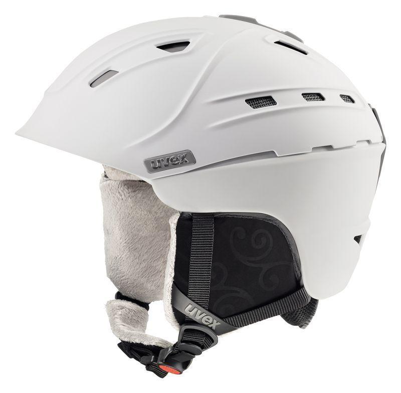 helma UVEX P2US WL, satin-white mat (S566178100*) UVEX ZIMNÍ