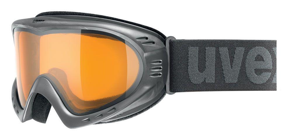 lyžařské brýle UVEX CEVRON, anthracite/lasergold lite (0529) UVEX ZIMNÍ