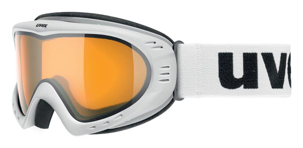 lyžařské brýle UVEX CEVRON, polar white mat/lasergold lite (0129) UVEX ZIMNÍ