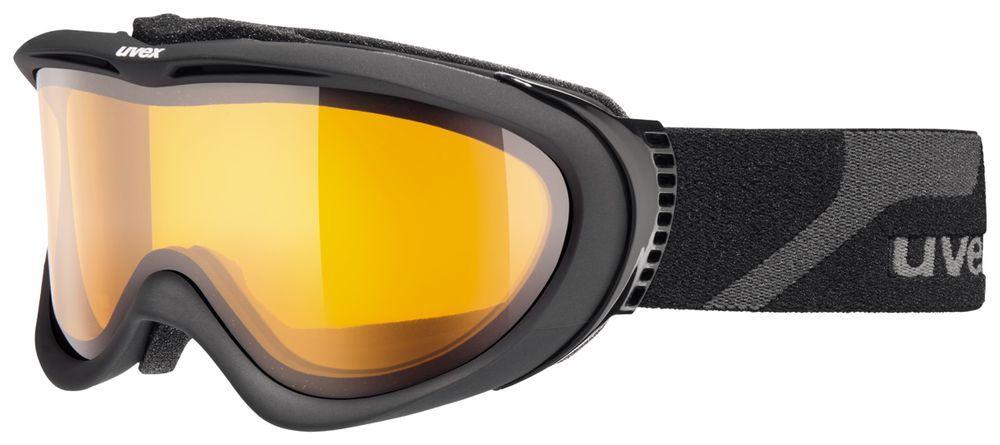 lyžařské brýle UVEX COMANCHE, black mat/lasergold lite (4229) UVEX ZIMNÍ