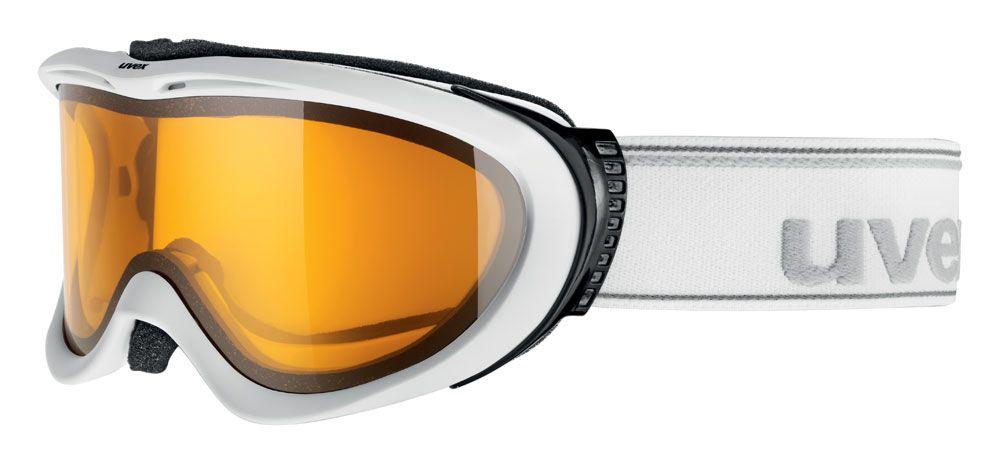 lyžařské brýle UVEX COMANCHE OPTIC, white mat/lasergold lite (1029) UVEX ZIMNÍ