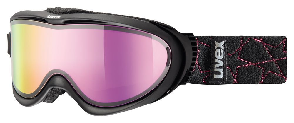 lyžařské brýle UVEX COMANCHE TAKE OFF, black/litemirror pink (2326) UVEX ZIMNÍ