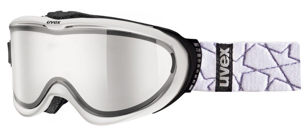lyžařské brýle UVEX COMANCHE TAKE OFF, white mat/litemirror silver (1326) UVEX ZIMNÍ