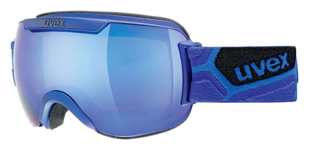 lyžařské brýle UVEX DOWNHILL 2000, cobalt mat double lens/litemirror blue (4426) UVEX ZIMNÍ