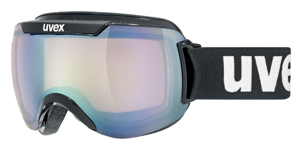 lyžařské brýle UVEX DOWNHILL 2000 VM black/ltm silver/vario/clear samozabarvující sklo UVEX ZIMNÍ