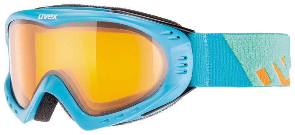 lyžařské brýle UVEX F 2, petrol-orange/lasergold lite (4229) UVEX ZIMNÍ