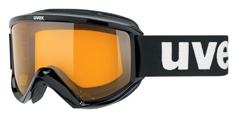 lyžařské brýle UVEX FIRE RACE, black/lasergold lite (2029) UVEX ZIMNÍ