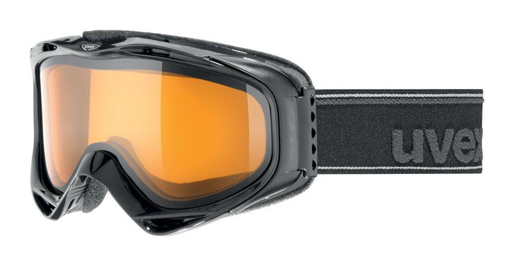 lyžařské brýle UVEX G.GL 300, black double lens/lasergold lite (2029) UVEX ZIMNÍ