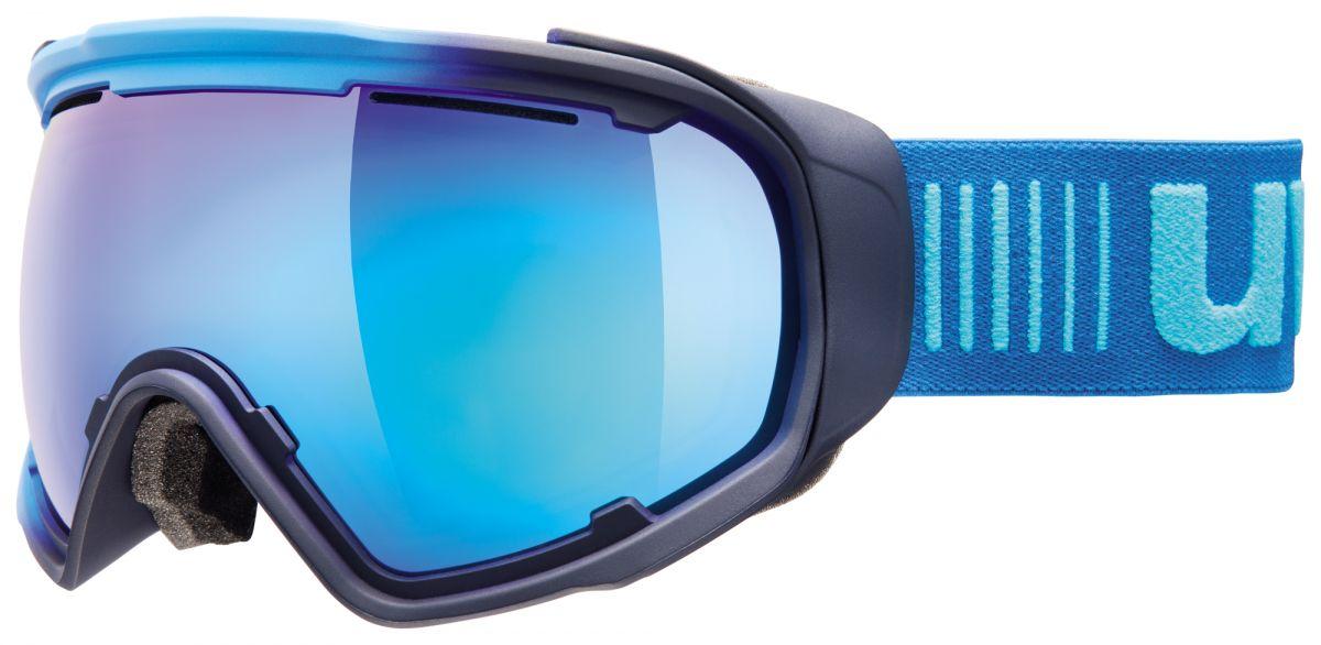 lyžařské brýle UVEX JAKK SPHERE, ice-navy mat/mirror blue (4026) UVEX ZIMNÍ