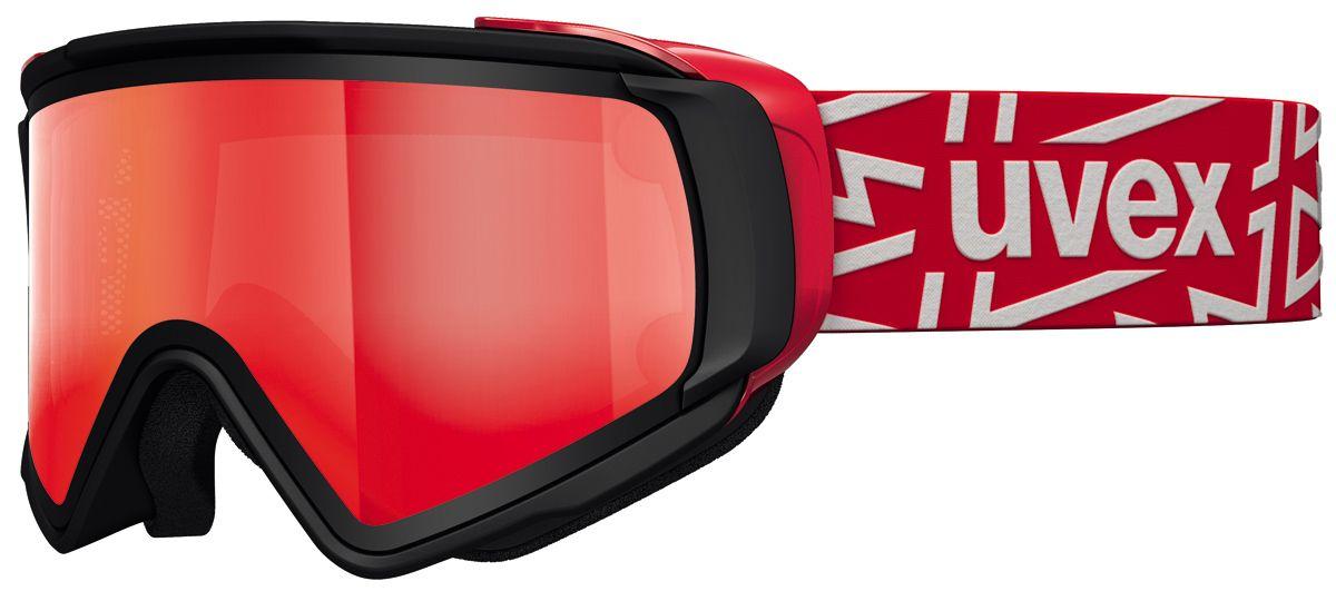 lyžařské brýle UVEX JAKK TAKE OFF POLA, black mat/litemirror red (2026) UVEX ZIMNÍ