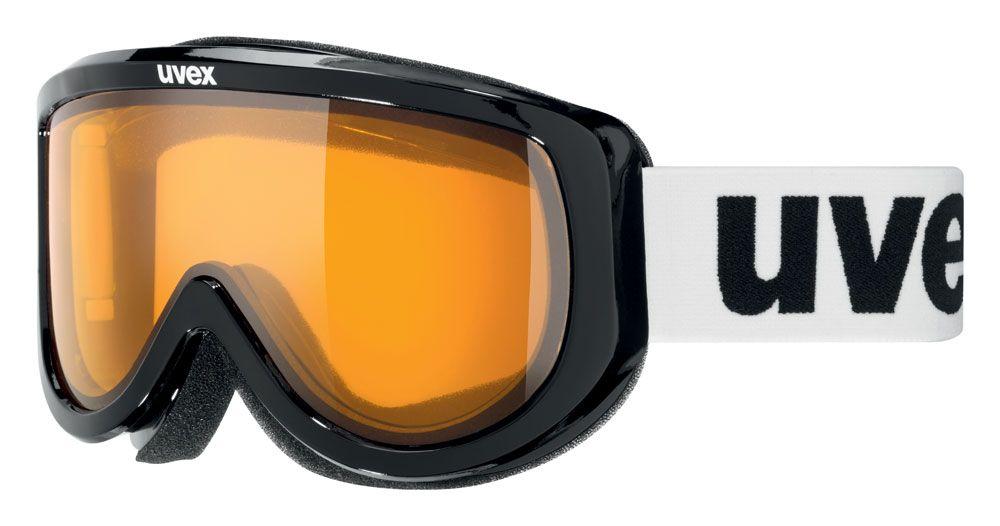 lyžařské brýle UVEX RACER, black/lasergold lite (2029) UVEX ZIMNÍ