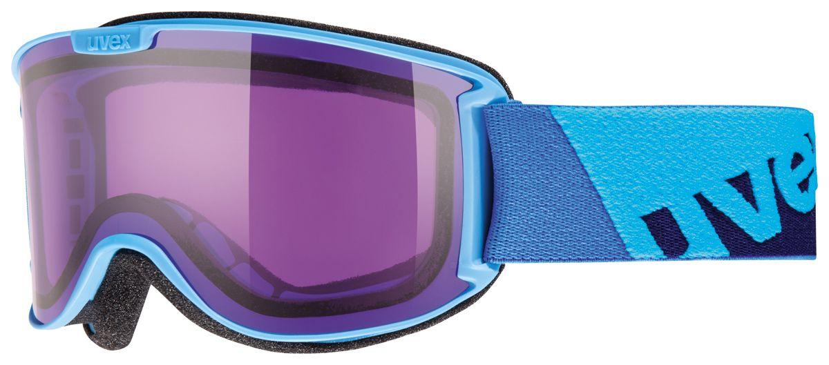 lyžařské brýle UVEX SKYPER, cyan/psycho (4022) UVEX ZIMNÍ