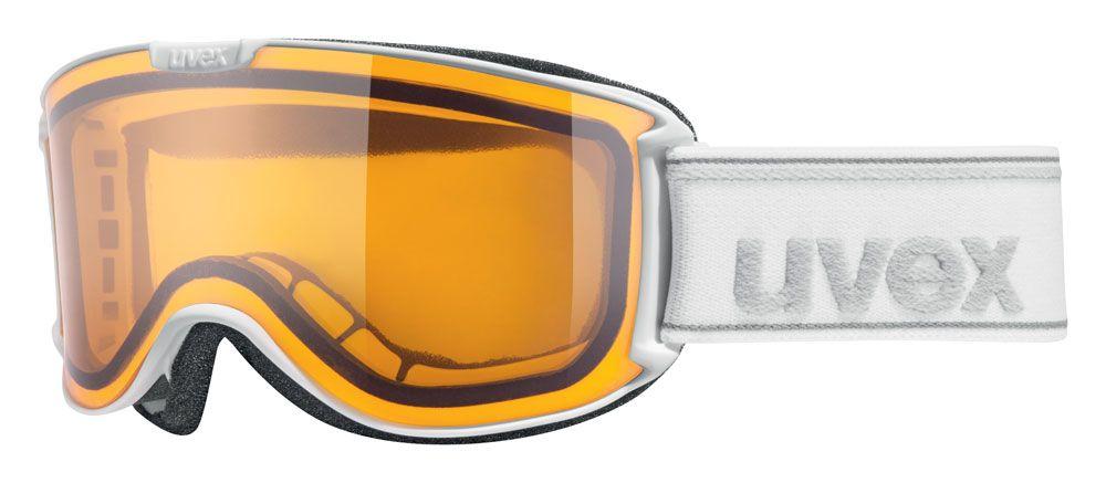 lyžařské brýle UVEX SKYPER LGL, white/lasergold lite (1029) UVEX ZIMNÍ