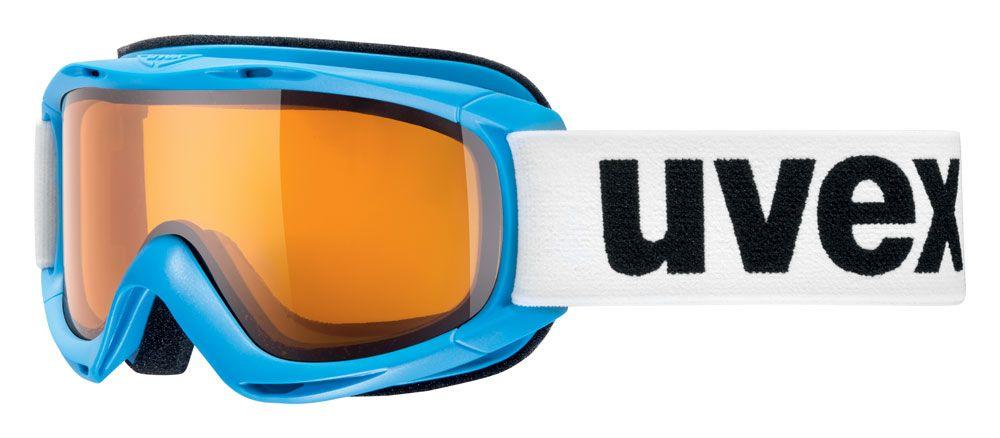 lyžařské brýle UVEX SLIDER, cyanblue/lasergold lite (4029) UVEX ZIMNÍ