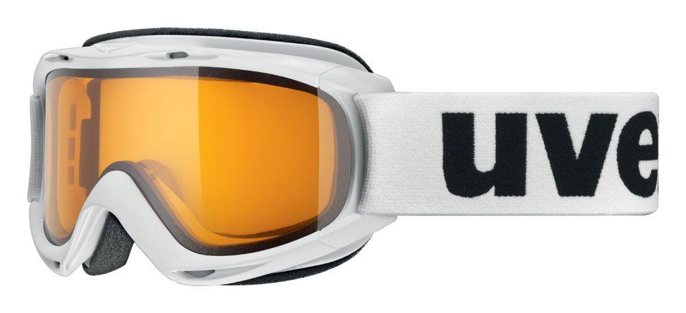 lyžařské brýle UVEX SLIDER, white/lasergold lite (1129) UVEX ZIMNÍ