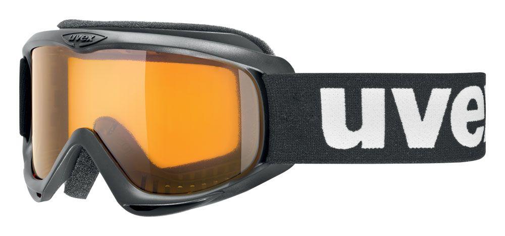 lyžařské brýle UVEX SNOWCAT, black/lasergold lite (2019) UVEX ZIMNÍ