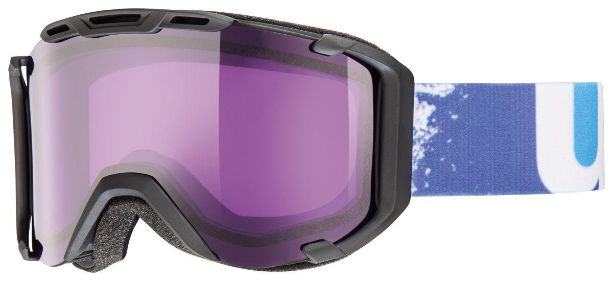 lyžařské brýle UVEX SNOWSTRIKE, black mat/psycho (2224) UVEX ZIMNÍ