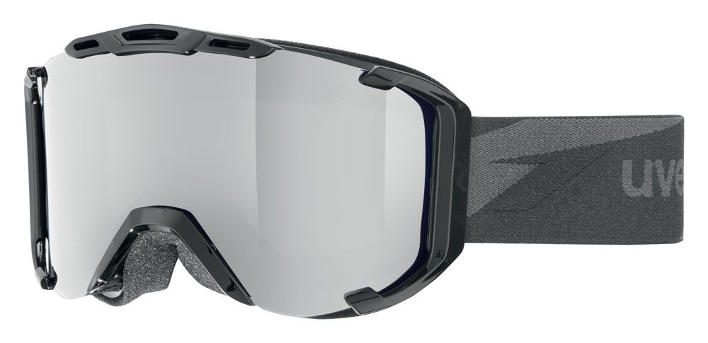 lyžařské brýle UVEX SNOWSTRIKE LTM, black/litemirror silver (2026) UVEX ZIMNÍ