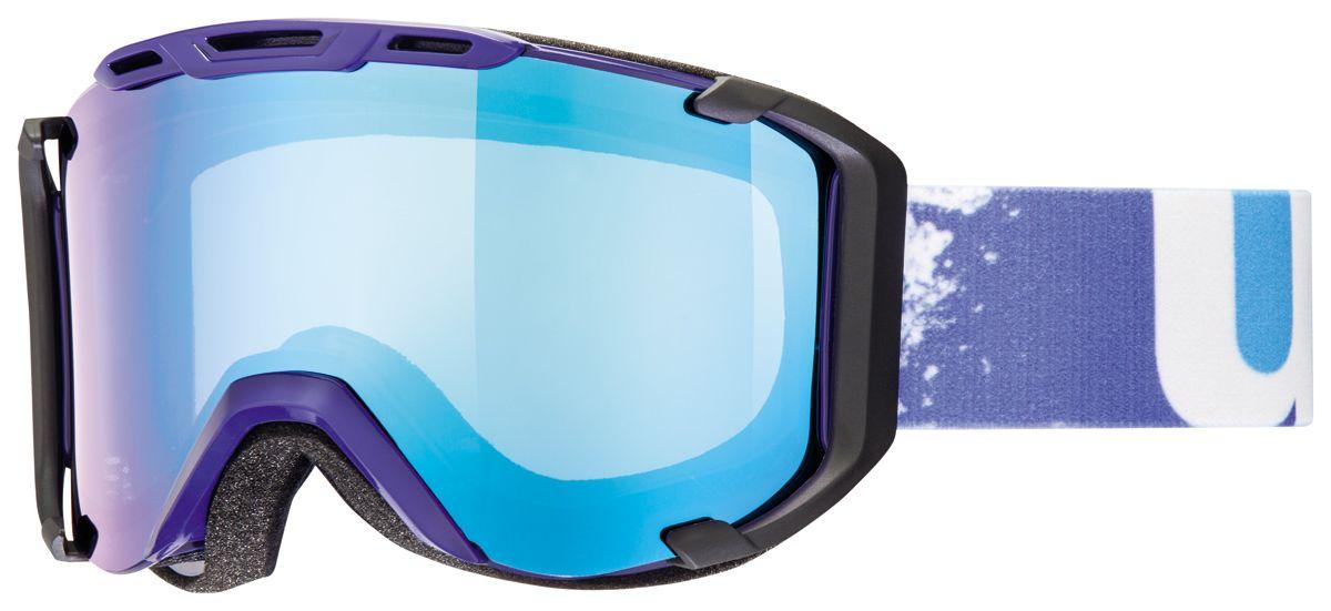 lyžařské brýle UVEX SNOWSTRIKE VM, indigo/variomatic/litemirror blue (4023) UVEX ZIMNÍ