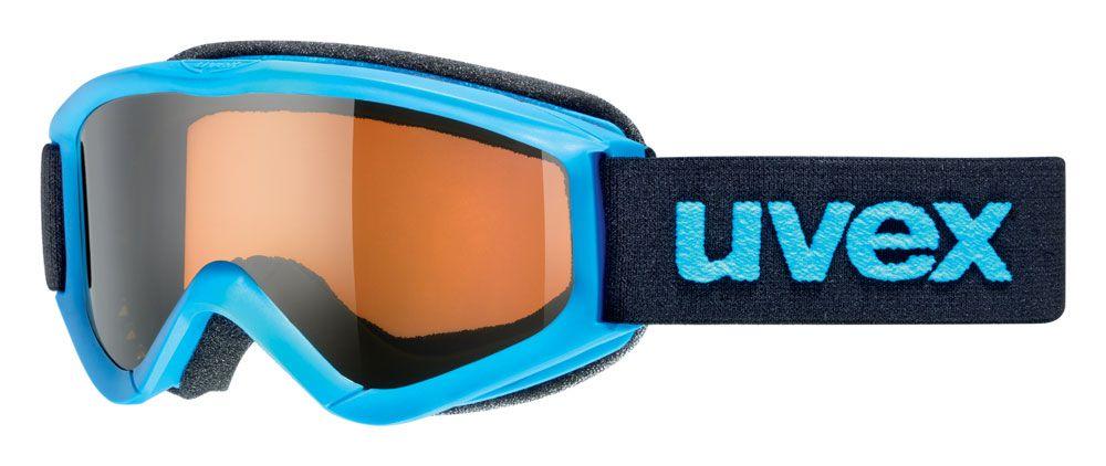 lyžařské brýle UVEX SPEEDY PRO, blue/lasergold (4012) UVEX ZIMNÍ