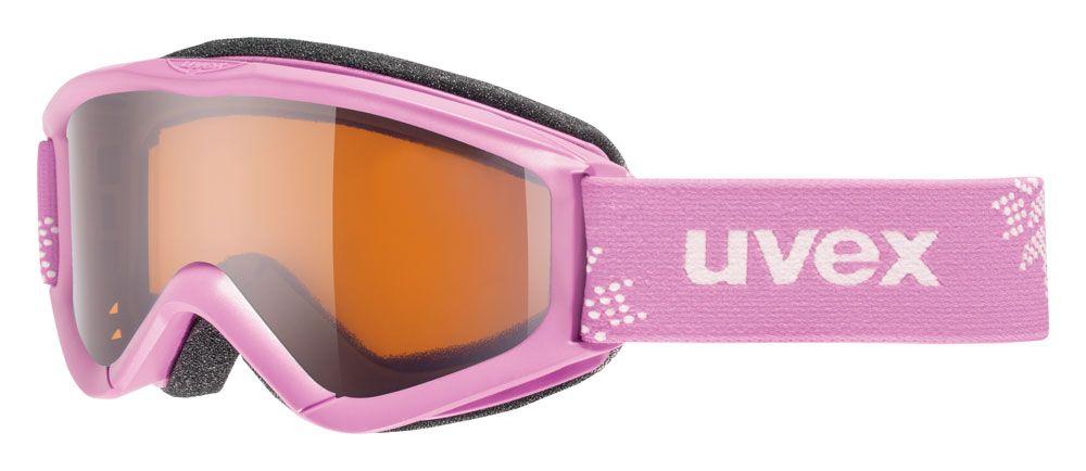 lyžařské brýle UVEX SPEEDY PRO, pink snowflake/lasergold (0912) UVEX ZIMNÍ