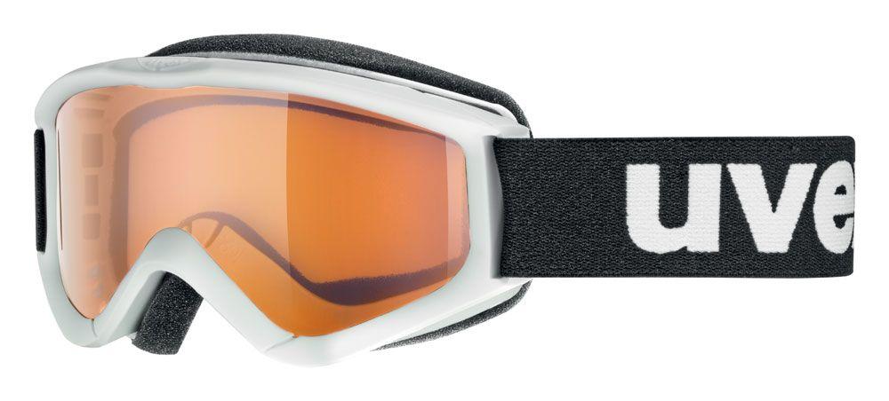 lyžařské brýle UVEX SPEEDY PRO, white/lasergold (1112) UVEX ZIMNÍ