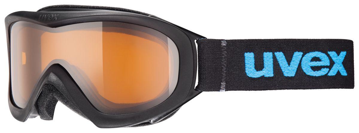 lyžařské brýle UVEX WIZZARD DL, black double lens/lasergold lite (2422) UVEX ZIMNÍ