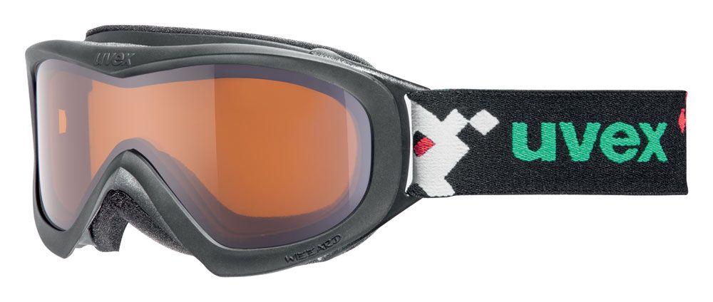 lyžařské brýle UVEX WIZZARD DL, black pacman double lens/lasergold (2722) UVEX ZIMNÍ