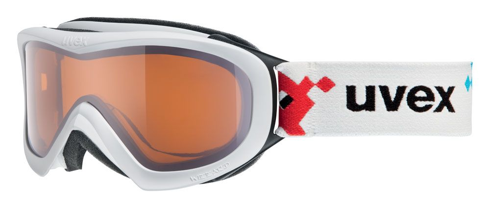 lyžařské brýle UVEX WIZZARD DL, white pacman double lens/lasergold (1022) UVEX ZIMNÍ