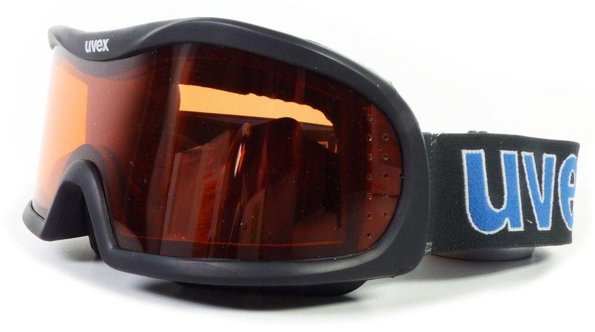 lyžařské brýle VISION OPTIC I, black double lens/lasergold lite (2329) UVEX ZIMNÍ