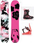 Dětský snowboardový komplet K2 GIRLS GROM PACKAGE snowboard set K2 Corporation
