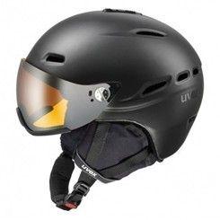 Uvex HLMT 200 VISOR lyžařská helma s hledím / štítem doprava 0,- bílá