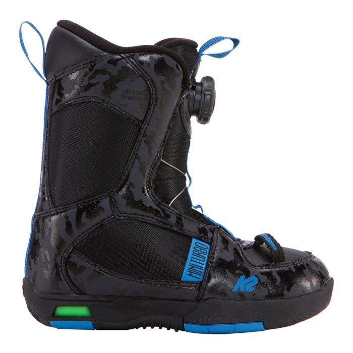 SNB boty K2 MINI TURBO BOA boots - dětské snowboardové boty K2 Corporation