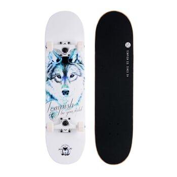 BLUE WOLF skateboard TEMPISH