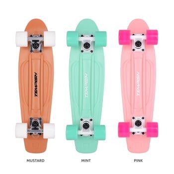 BUFFY NATURE skateboard mustard TEMPISH