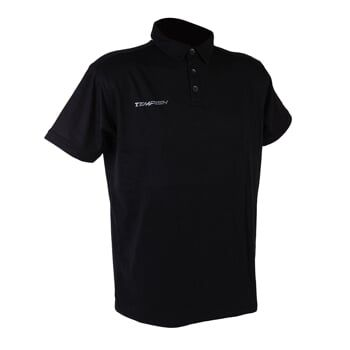 TEEM 2 POLO triko black 3XL TEMPISH