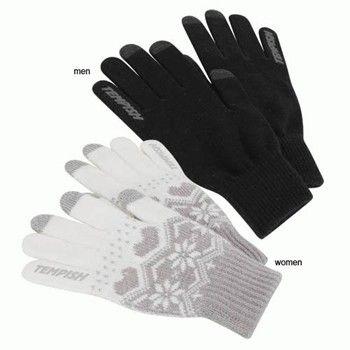 TOUCHSCREEN rukavice white TEMPISH