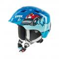 AIRWING 2 PRO lyžařská helma + ZDARMA kukla Uvex lehká dětská lyžařská helma